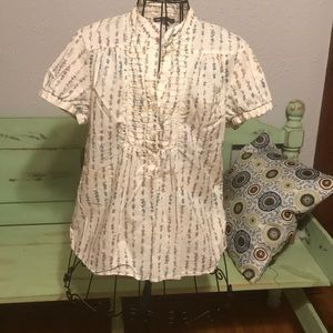 Gap flower blouse